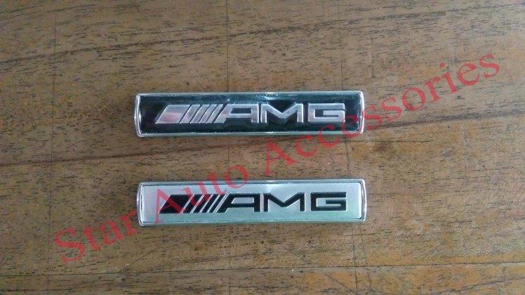 Emblem Fender Plastik AMG